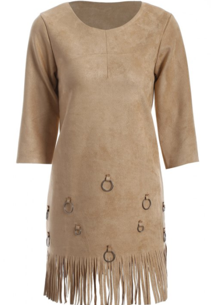 Glands-A-line-robe-camel