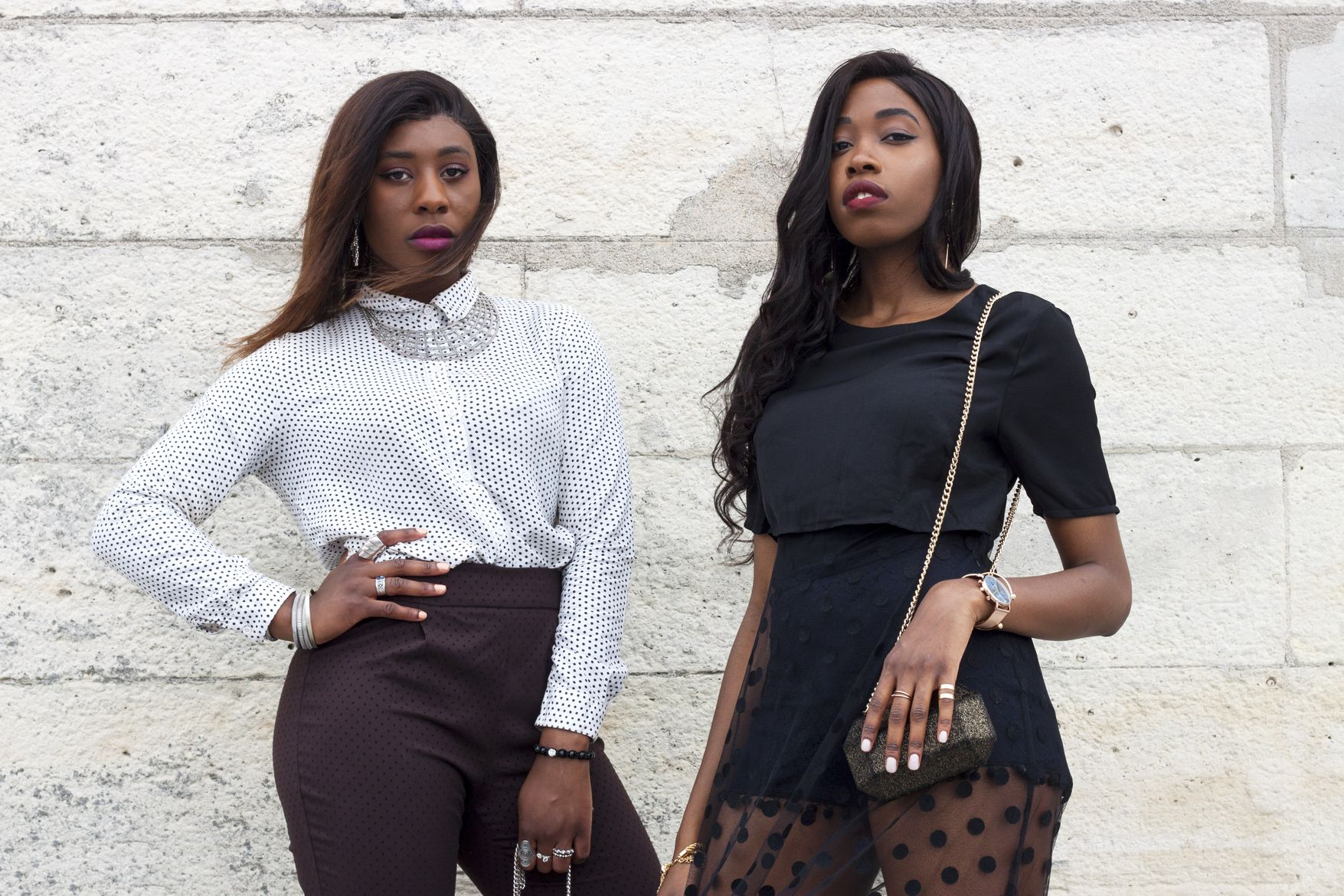 Golden Connexion : fashion focus : slay wearing polka dot