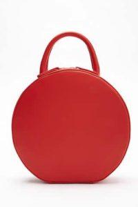 Structured Round Bag