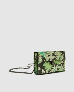 Tropical print bag Zara