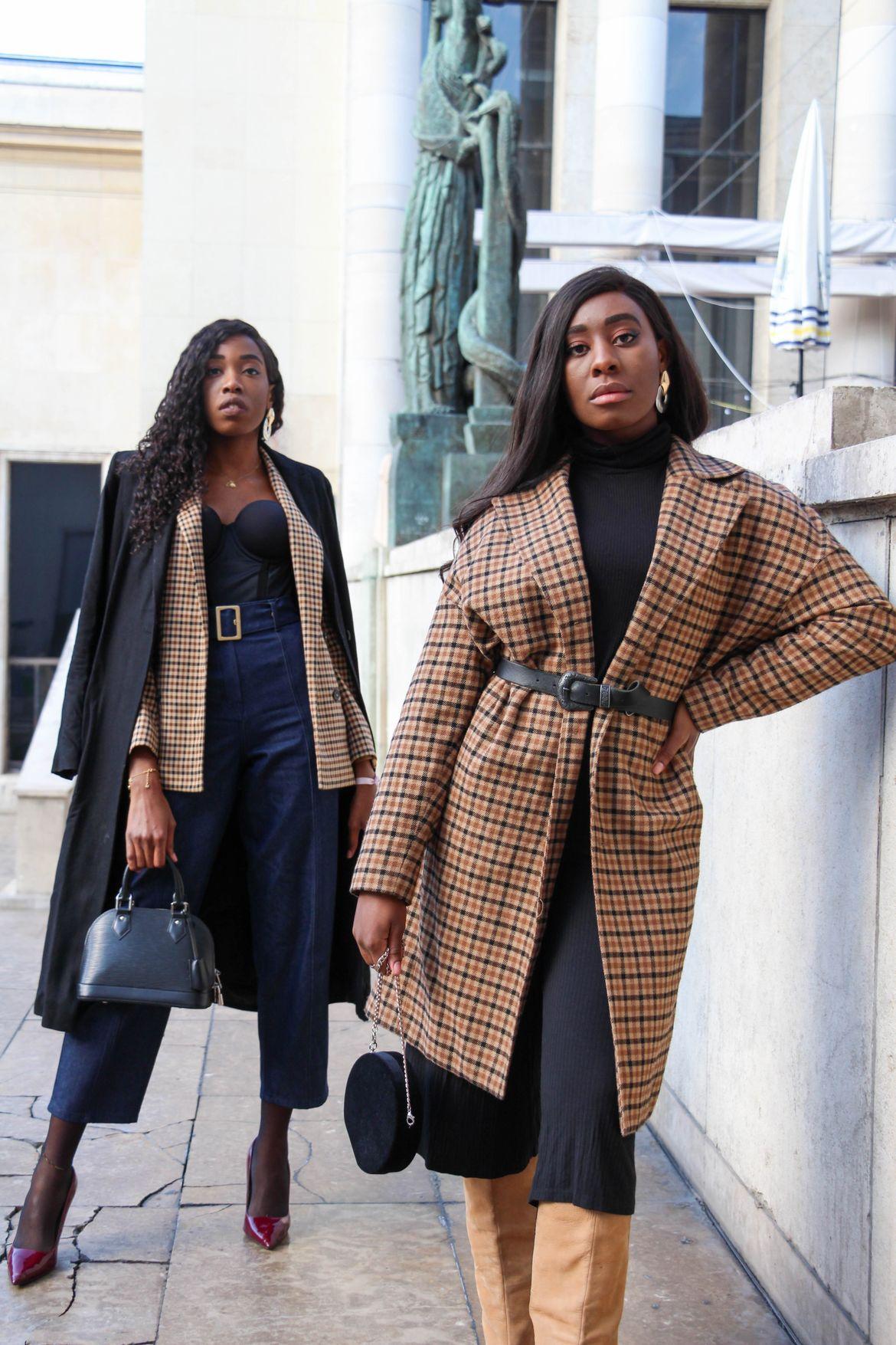 Golden Connexion : imprimé carreaux, blog mode et lifestyle
