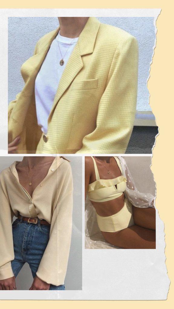 Golden Connexion : sélection mode pastel